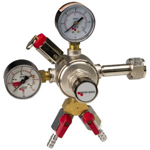 Double Gage Primary Regulator 2 kegs