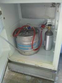 How to build a kegerator fridge 2