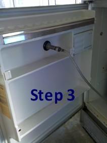 keg refrigerator build 2