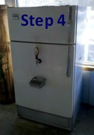 keg refrigerator build 3