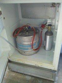 How to build a kegerator fridge 2
